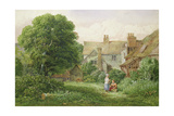 Old House at Hendon Giclee Print by Bernard Walter Evans