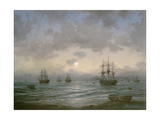Waiting for the Tide Giclee Print by Richard Willis