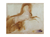 Horse of Joachim Murat, C. 1832 Giclee Print by Baron Antoine Jean Gros