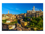 Siena Panorama Tuscany Italy Print