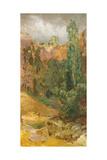 Rock Ravine, 1884-85 Giclee Print by Max Klinger