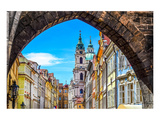 Prague Old Town & Tower Arch Art