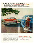 Oldsmobile-Into the Rocket Age Posters