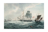In the English Channel Giclee Print by Joseph Cartwright