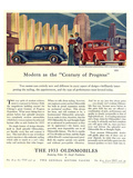 Oldsmobile Century of Progress Posters