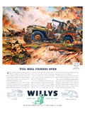 Willys- Till Hell Freezes Over Poster