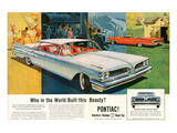 Pontiac- Who Built This Beauty Posters
