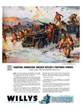 Willys - Fighting Americans… Affiches