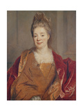 Mme Titon Du Tillet Giclee Print by Nicolas de Largilliere