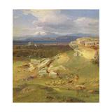 Landscape Near Corinth, C.1835 Giclee Print by Carl Rottmann