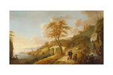 A Coastal Scene with Fishing Boats Giclee Print by Peter De Bloot