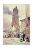 The Tower of St. Jacques, Paris Giclee Print by Thomas Shotter Boys
