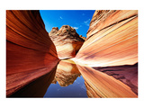 The Wave Arizona Reflections Posters