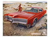 Red 1968 Chrysler Posters