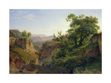 A Valley Near Sorrento, 1854 Giclee Print by Louis Gurlitt