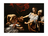 Judith and Holofernes, 1598-99 Giclée-tryk af  Caravaggio
