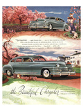 The Beautiful Chrysler Lámina giclée premium