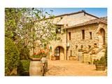 Old Stone Chianti Villa Italy Prints