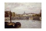 The Pont De L'Estacade, Paris Giclee Print by Stanislas Victor Edouard Lepine