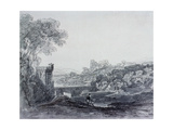 View in Italy (Drawing) Giclee Print by Sir Augustus Wall Callcott