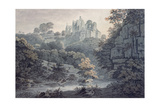 Hawthornden Castle Near Edinburgh Giclee Print by James Bourne