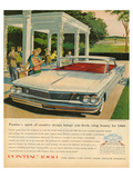 Pontiac-Crisp Beauty for 1960 Posters