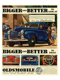 Oldsmobile - Better to Look At Poster