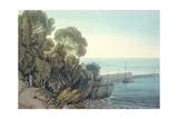Lynmouth, Devon Giclee Print by John White Abbott