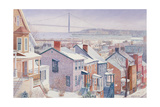 Monroe St., Staten Island, New York, 1995 Giclee Print by Anthony Butera