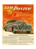 Pontiac-Soars to Greater Fame Prints