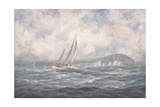 Off the Needles, Isle of Wight, 1997 Giclee Print by Richard Willis