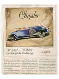 New Chrysler 75-The Modern Car Prints