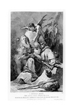 St. Anthony Abbot Enduring the Temptations of the Devil Giclee Print by Giovanni Battista Tiepolo