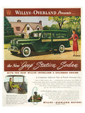 Willys - New Jeep Station Sedan Pósters