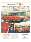 Plymouth Sport Fury Convertible Prints