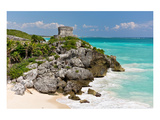 Tulum Mexico Beach Mayan Ruins Posters