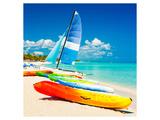 Surf Board Beach Varadero Cuba Prints