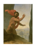 Oedipus and the Sphinx, 1808 Giclee Print by Jean Auguste Dominique Ingres