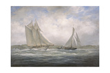 Two Classics: 'Aello Beta' and 'Marigold' Off the Isle of Wight, 2005 Giclee Print by Richard Willis