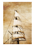 Sails on Old Paper Prints