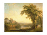 Antique Landscape with Phaeton's Tomb, 1785 Giclee Print by Jacob-Philippe Hackert