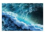 Ocean Wave Tube Print