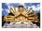 Thai Multiarmed Buddha Hua Hin Posters