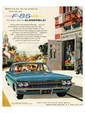 Oldsmobile-Drive the New F-85 Posters
