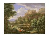 Classical Landscape, 1717 Giclee Print by Bernard Lens III