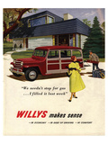 Willys Makes Sense in Economy… Affiches