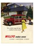 Willys Makes Sense in Economy… Prints
