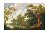 St. Paul Visiting St. Anthony in a Wooded Landscape, 17th Century Giclee Print by Alexander Keirincx