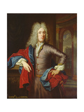 Portrait of Edward, 4th Viscount Irwin (1686-1714) Giclee Print by Thomas van der Wilt