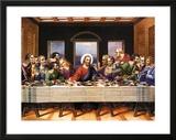 Leonardo Da Vinci (Last Supper) Art Poster Print Print